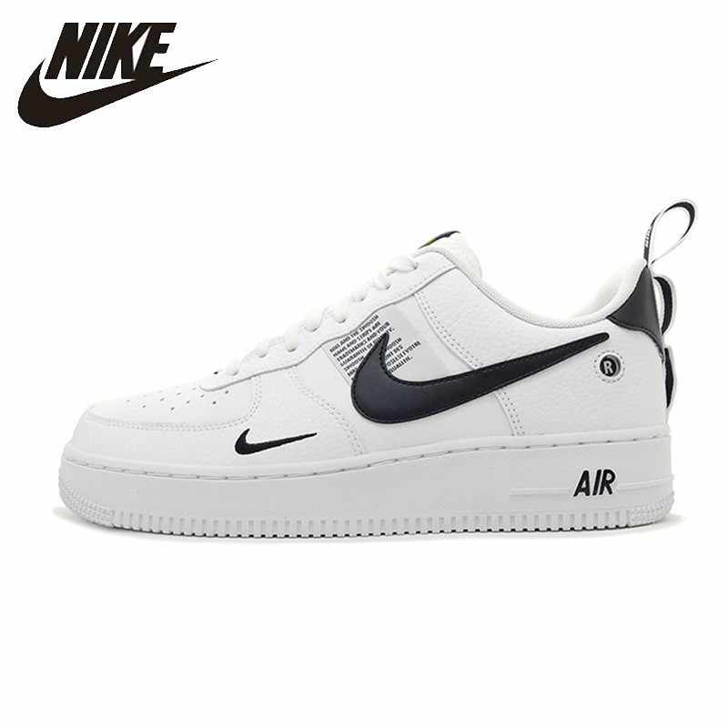 watch 49911 2567b Nike Official Air Force 1 Breathable Men Skateboarding Shoes Low Cut  Comfortable Sneakers New Arrival #AJ7747