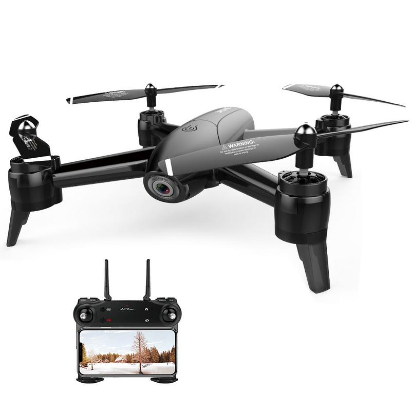 SG106 Drone оптического потока 1080 P HD Двойная камера в режиме реального времени антенна видео RC длинные Срок службы батареи траектории полета ...