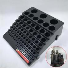 Коробка для хранения фрезерного резака практичная коробка для ручных инструментов держатель для ножей экономит место чехол-органайзер для дома DIY деревообработка
