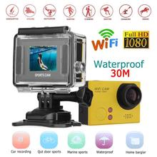 F58 1.5in HD 1080P 60fps WiFi HDMI 8 MP Action Camera 1.5in TFT Screen 30m Waterproof Sports DV Camcorder with Remote Control