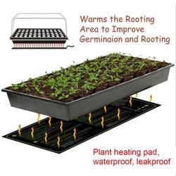 New Plant Heating Mat Seedling Flower Electric Blanket Waterproof Warm Durable Hydroponic Heating Pad 24*52CM 52*52CM 121*52CM
