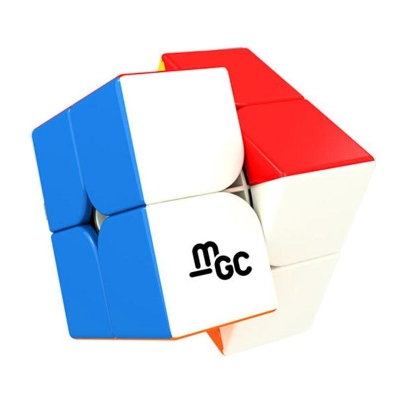 YJ MGC 2x2 Fidget Magnético Cubo 2x2x2 Velocidade Magic Cube Puzzle Cubo Magico 2*2 Neo Cube Por Ímãs Brinquedos Do Menino Para Crianças