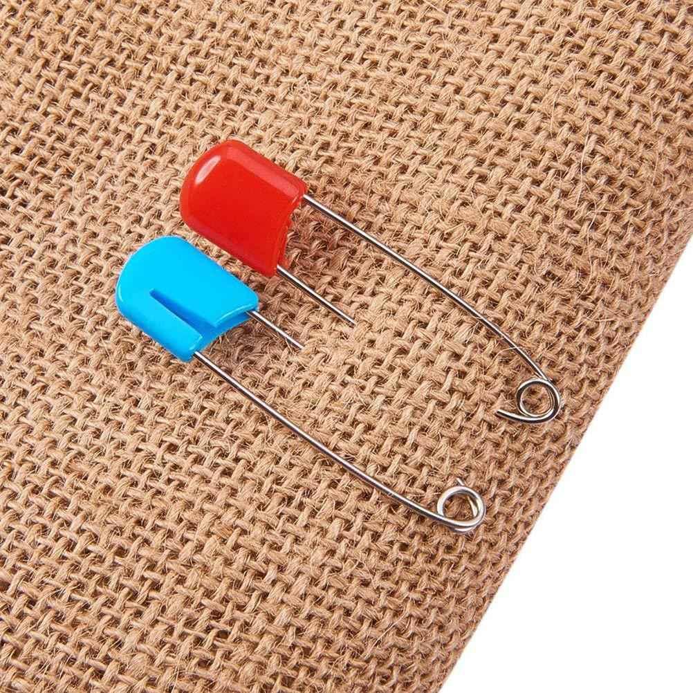 100 Pcs Pin Kecil Buaya Pin Pin Perhiasan Manik-manik Jarum Pin untuk Penjahit Kerajinan DIY Aksesoris Rumah Kantor Sekolah