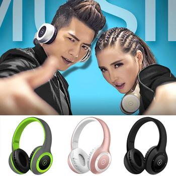Handsfree Headphone 3.5mm 123dB Stereo With Support Call Function Music Display Bluetooth Wireless Over Ears Headpset