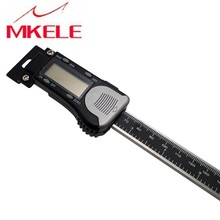 0-200mm Digital Scale Horizontal Stainless  high Accuracy Steel Horizontal Linear Scale LCD Display Caliper Scale digital display vertical scale caliper 150mm