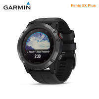 GARMIN Fenix 5X Plus Smart Watches GPS Waterproof Ultimate Multisport GPS Smartwatch Heart Rate Monitoring Sapphire Mirror