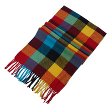 Fashion Winter Scarf For Women Warm Plaid Luxury Brand Blanket Wraps Female Scarves And Shawls 2018