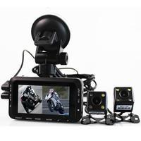 Car Motorcycle Driving Recorder Dashcam Off road Sports Dashcam Dual Lens Dash Camera Motorcycle Blackbox Locomotive Camcorder