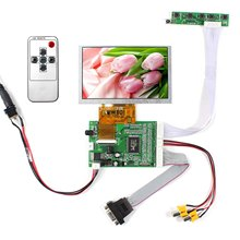 5inch VS050T-002A 800x480 LCD Screen+VGA 2AV LCD Controller Board VS-TY40-V1 4 3 lcd screen 2av vga driver board at043tn24 34 7m 40pin lcd screen