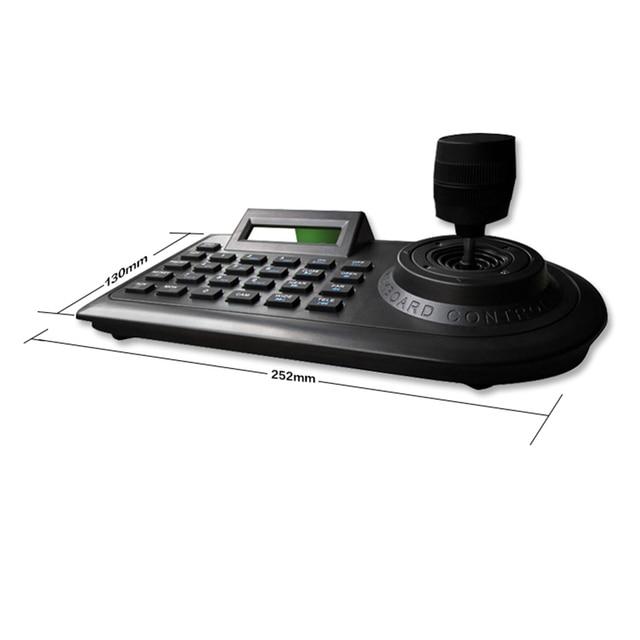 Axis Ptz Joystick clavier de contrôleur Ptz | Rs485 pelco-d/P avec écran Lcd pour sécurité analogique Cctv, caméra Ptz dôme de vitesse
