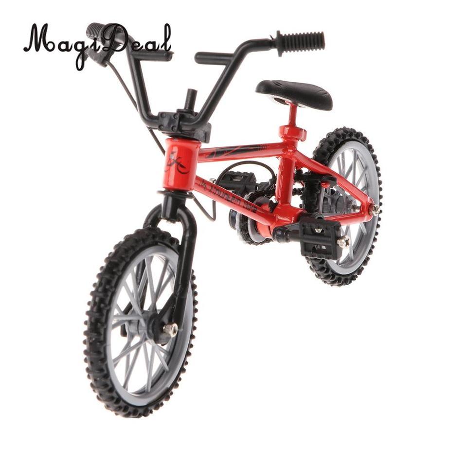 MagiDeal Metall Finger Fahrrad Fahrrad Mini Fingerbike Modell Jungen
