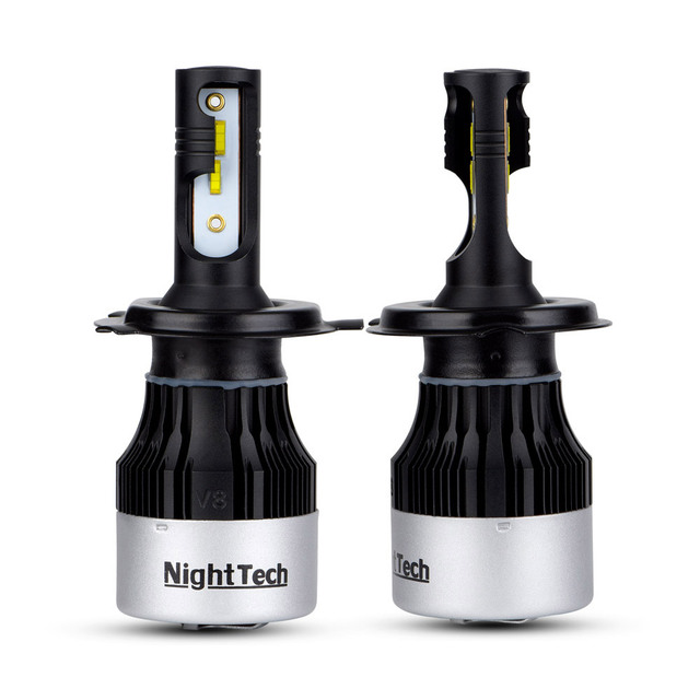 mini H7 H1 LED Car Headlight Bulb H11 H8 csp LED Chips Auto Lamp 12V 7200Lm 6000K External Light 9005 HB3 9006 HB4 H4 Car light