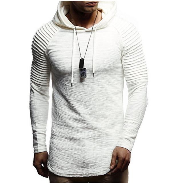 Men's Hooded Cotton Sweatshirt