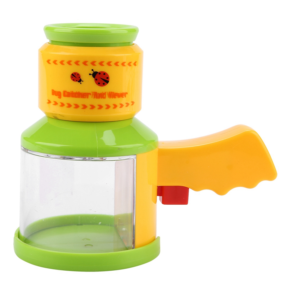 Kids Preschool Toy Outdoor Insect Observation Bug Catcher Viewer Magnifier Children Microscope