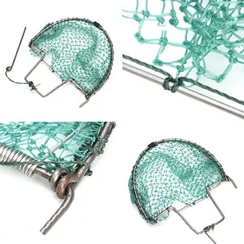 Practical Outdoor Tool Bird Net Trap Sparrow Pigeon Starling Birds Foldable Net Mesh Trap Hunting Tools 20cm For Outdoor Hunting