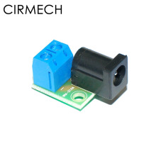 CIRMECH DC разъем адаптера 2pin 5,08 до 5,5*2,1 jack