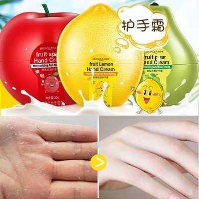 BIOAQUA-crème de fruits naturels, extrait de fruits, de fruits, de poire, de citron, de mangue, banane, nourrissant, hydratant, de soins pour les mains