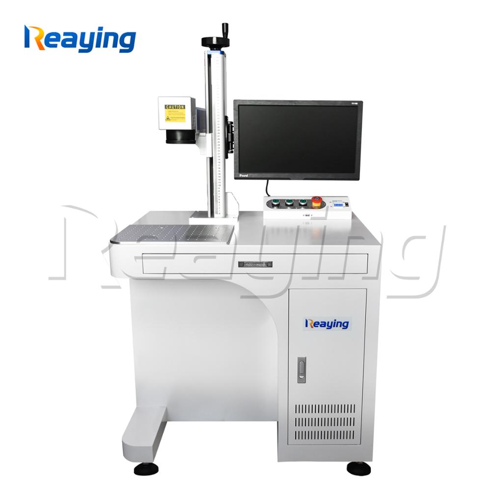 Original 50 watt Raycus laser source fiber laser metal marking machine jewelry laser engraver marker machine