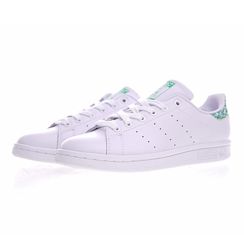 e3f7d93a18f Beste Koop Adidas Stan Smith vrouwen Wandelschoenen Wit Groen Lichtgewicht  slijtvaste Ademende Sneakers # BZ0407 Goedkoop.