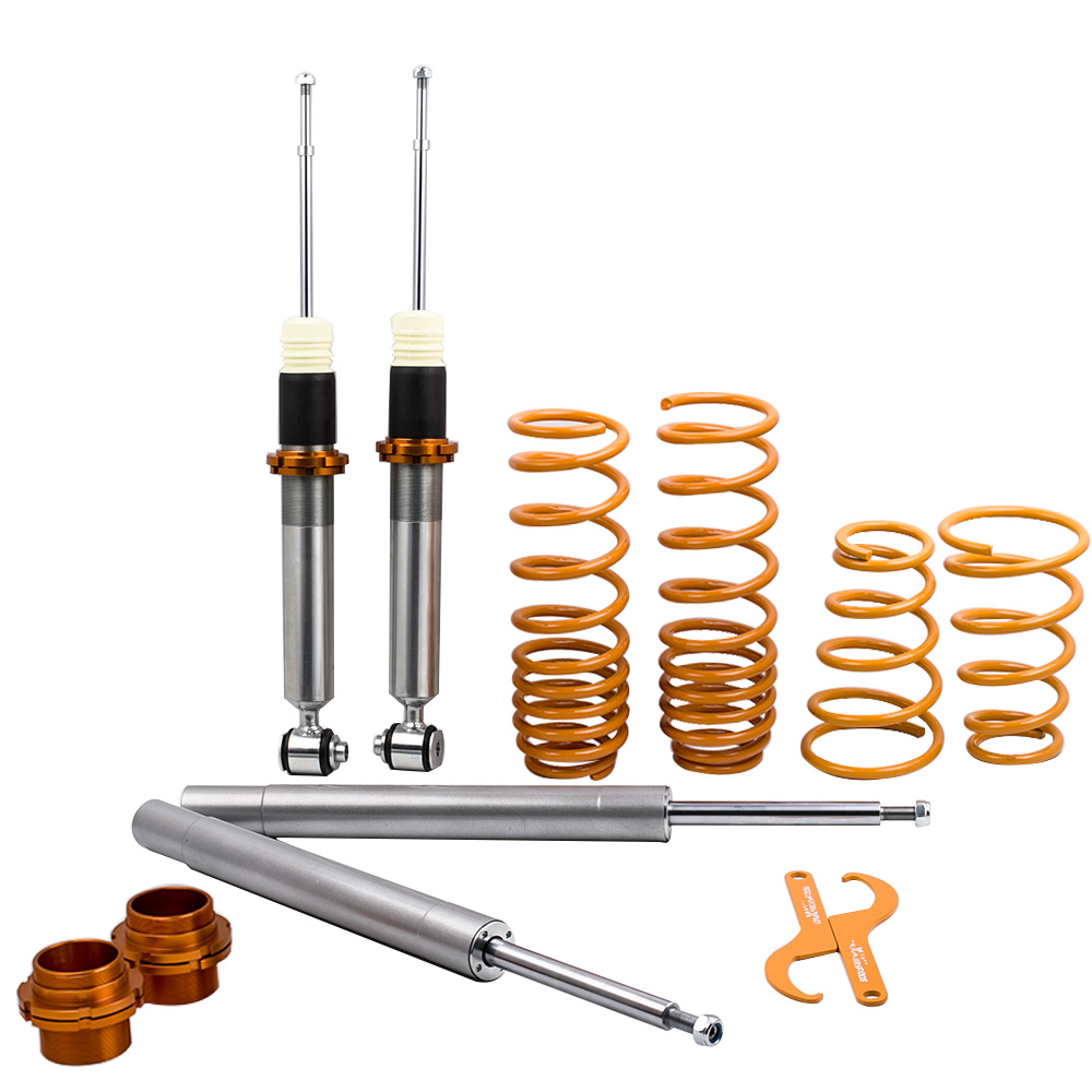<font><b>COILOVERS</b></font> FOR <font><b>BMW</b></font> <font><b>E30</b></font> 3 SERIES COIL STRUT SPRING 51mm front inserts SUSPENSION Shock Absorber kit Coil Springs over Strut image