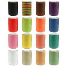 0,8 мм вощеная нить Ремонт шнура швейная кожа ручной воск сшивание DIY нить для изготовления ювелирных изделий браслет ожерелье DIY#116