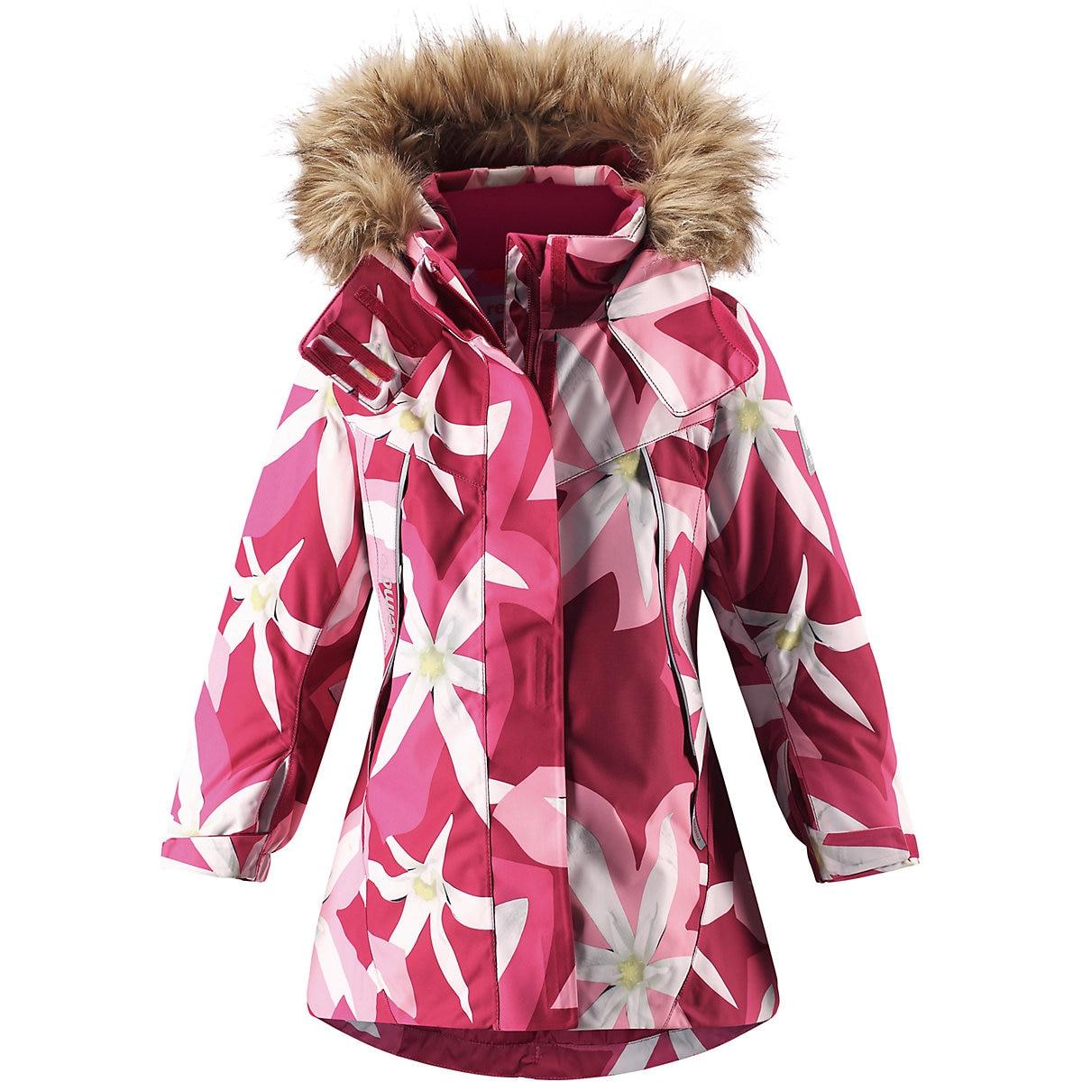 REIMA Jackets & Coats 8688910 for girls baby clothing winter warm boy girl jacket Polyester reima sweaters 8689310 for girls wool warm winter children clothing girl suit jacket