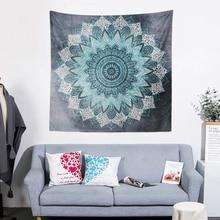 Indian Mandala Tapestry Wall Hanging Tapestries 150*200 CM Flower Art Carpet Blanket Yoga Mat Decorative for Home