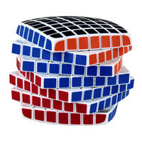 Magic Cube 7x7x7 Keychain Cubo Magico Puzzle Rubiks Column Cube Cube Bag Stand Toy Kid For Competitions Challenge IQ