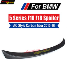 F10 Spoiler Rear Lip Wing Tail AEAC Style Carbon For F18 520i 525i 528i 530i 535i 535d 550i Trunk 2010-16