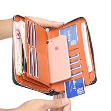 Retro European And American Men's Clutch Bag Multi-Function Wallet Men's Long Zipper Clutch Bag Mobile Phone Bag недорого