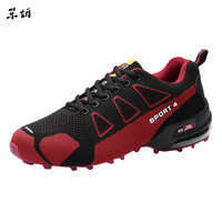 Shoes Men Sneakers Breathable Casual Shoes Krasovki Men Casual Mountaineering Shoe Lightweight Breathable Lace up Sneakers #89