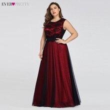 Plus Größe Burgund Prom Kleider Lange Immer Pretty A Line Spitze Ärmellose Schärpen Prom Kleider für Frauen Elegante Party Kleider 2020