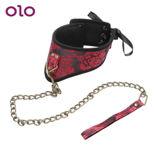OLO Neck Sleeve SM Bundling Fetish Sex Slave Bondage Games Female Chastity Belt Adult Sex Toys for Couples