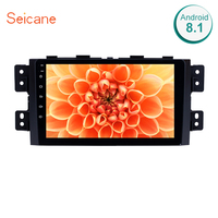 Seicane Android 8.1 Touch Screen radio 9 Inch Bluetooth GPS Navigation system for 2008 2016 KIA Borrego with TPMS DVR OBD II USB