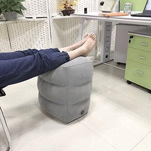 Image 5 - Mais novo quente útil inflável portátil viagem apoio para os pés travesseiro avião trem crianças cama pé resto pad8