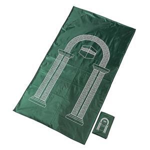 Image 3 - Muslim Portable Travel Worship Mat 105x60cm Waterproof Aanbidding Prayer Mat Rain Cloth Simple Blanket Pocket Pad Muslim Gifts