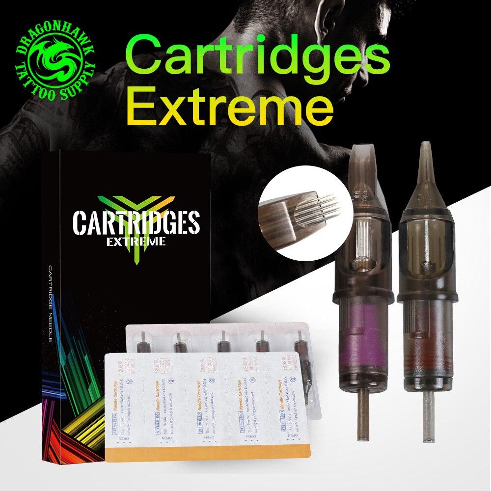 Tattoo Needles Mix Size Premade Sterilized Tattoo Cartridge Needles RL/RS/RM/M1 Supply