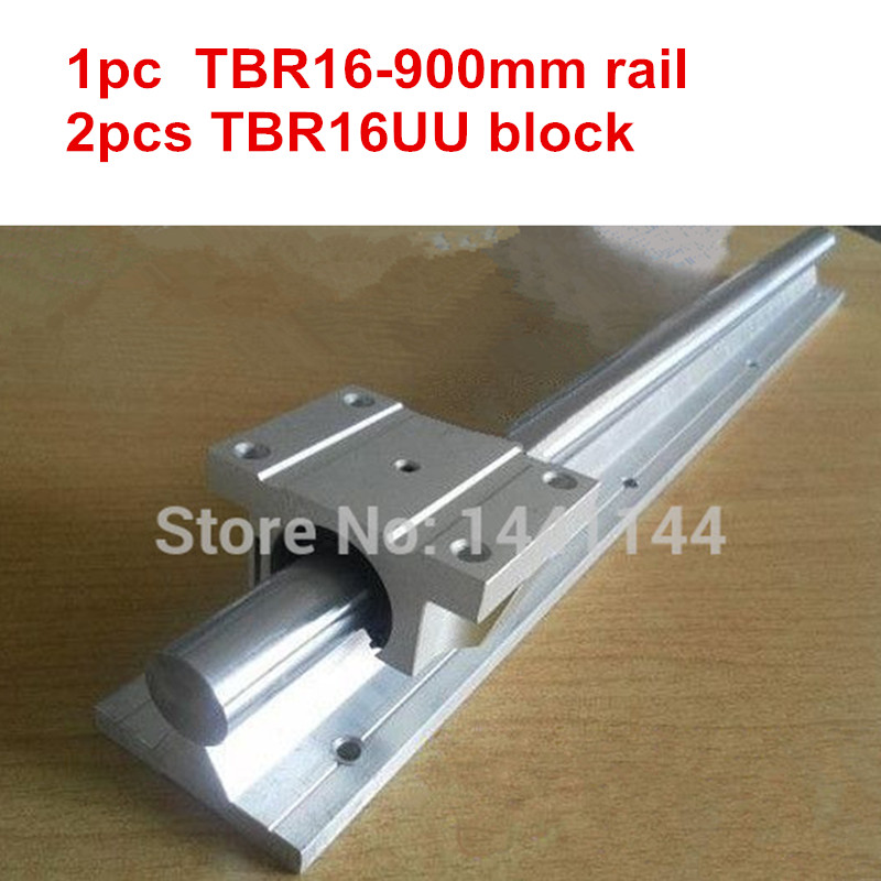 4 TBR16UU Rounter Bearing 2X TBR16-400mm 16MM FULLY SUPPORTED LINEAR RAIL SHAFT