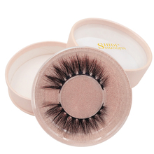SHIDISHANGPIN 1 pair hand made false eyelashes extension 3d mink lashes box makeup 1cm-1.5cm volume