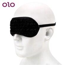 OLO Eye Mask For Couples Women Erotic Fetish Flirtatious Blindfold Flirt Sex Toy Bound Slave Sex Toys For Women Adult Games