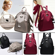2019 New Brand Fashion Women PU Leather Backpack Shoulder Travel School Bag Rucksack Satchel