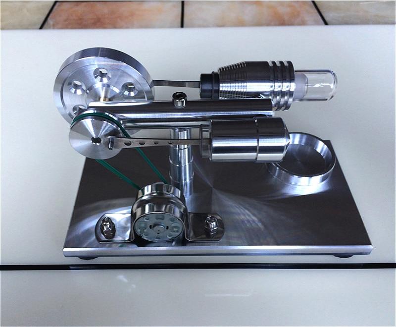 Stryn moteur modèle moteur Micro moteur à vapeur Science populaire expérience jouet pour cadeau.