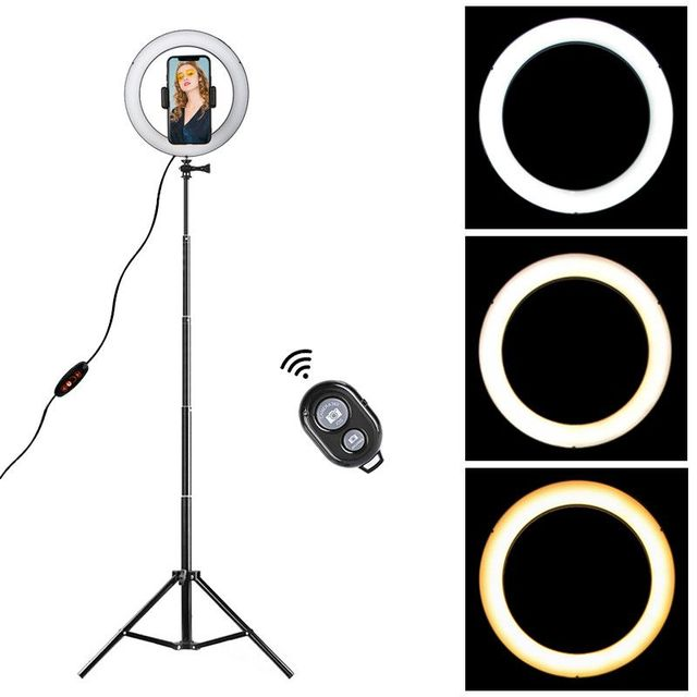 Dimmable Large Round Black Light