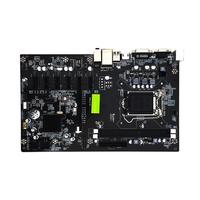 VAKIND H81 BTC Motherboard 6 GPU Mining LGA1150 CPU 2*DDR3 DIMM Memory High Speed USB3.0 Ports Computer PC Mainboard for Desktop
