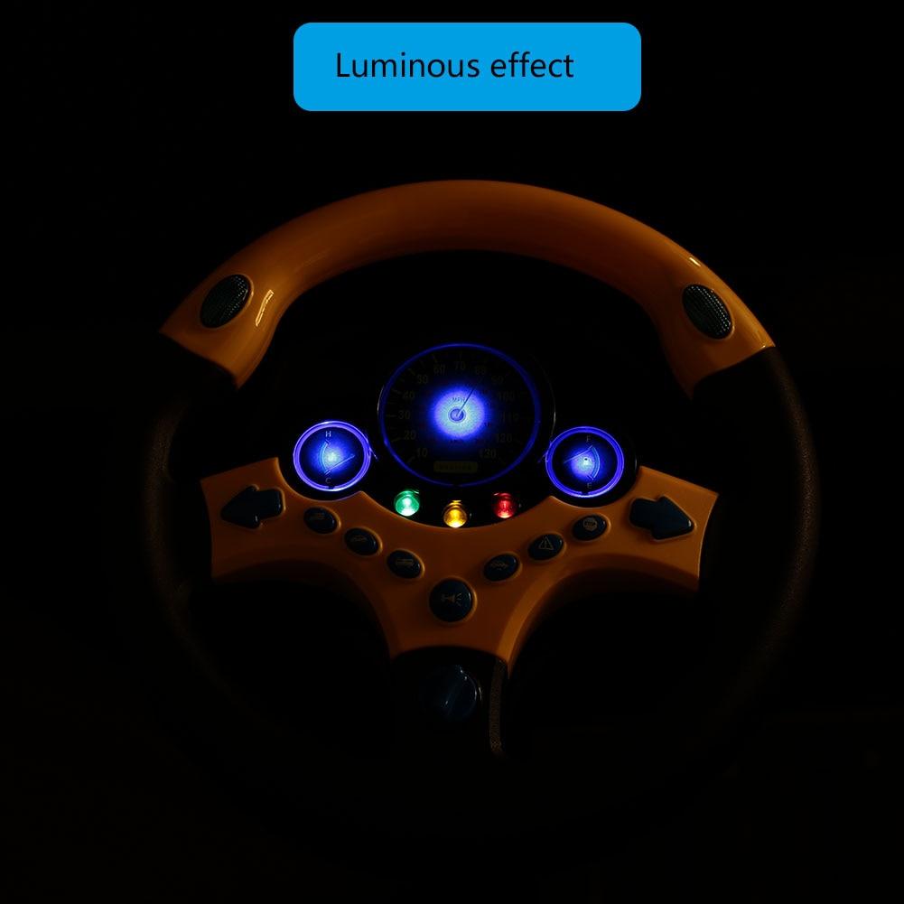 Электронное рулевое колесо многофункциональсветодиодный светодиодное моделирование Teering Wheel развлечения родитель-ребенок Взаимодействие