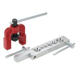 WSFS Hot 6 matryce zestaw narzędzi do rur zestaw narzędzi do obróbki drewna narzędzia do przedłużania metalu 3/16 5/8 przewód hamulcowy powietrza w Zestawy narzędzi ręcznych od Narzędzia na