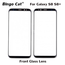 AAA+ New Replacement External Glass for Samsung Galaxy S8 Plus G950F G955F LCD Display Touch Screen Front Outer Lens