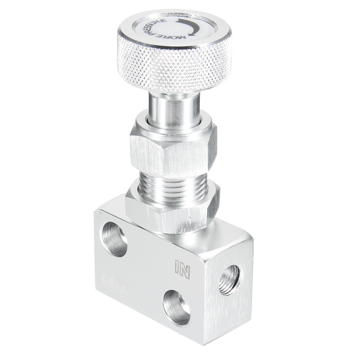 Universal Adjustable CNC Brake Proportioning Bias Valve Knob Style Suit Disc Drum 1//8 NPT Valve