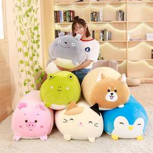 Squishy Chubby Cute Animal Plush Toy Soft Cartoon Pillow Cushion