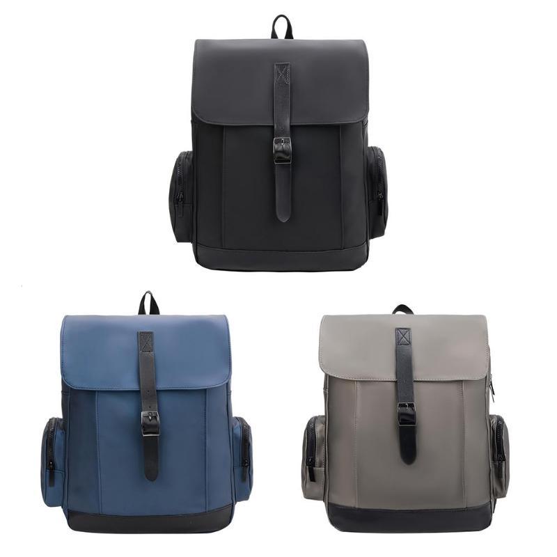 Fashion Men Backpacks Boy Nylon Travel Casual Large Laptop Shoulder Bags 32x43x15cm/12.6*16.9*5.9inFashion Men Backpacks Boy Nylon Travel Casual Large Laptop Shoulder Bags 32x43x15cm/12.6*16.9*5.9in
